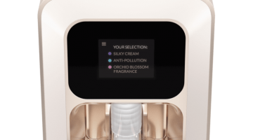 Emuage machine creates a Personalized cosmetics at home
