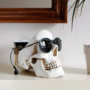 Suck UK Skull Tidy holder